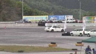 JRMCジムカーナ 東海シリーズ第4戦。プレジャーレーシング主催。キ...