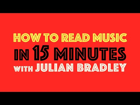 HOW TO READ MUSIC IN 15 MINUTES 👓🎼⌚️