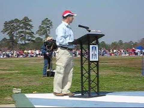 Mitch Daniels- 76th Infantry Brigade Departure Ceremony