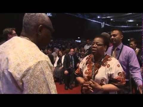 Rev Ayo Orisejafo At Mission to London 2014 Morris Cerullo