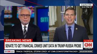 Rep. Swalwell on CNN discussing latest in Russia investigations
