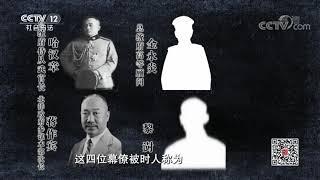 《法律讲堂(文史版)》 20190427 北洋乱局(七)围绕参战的较量  CCTV社会与法