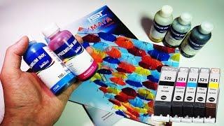 видео Красители для принтера. Какая краска для принтеров лучше?