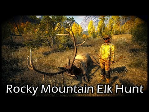 TheHunter Hunting Game - Rocky Mountain Elk Hunt