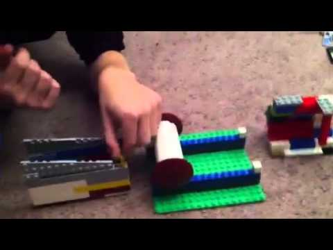 Lego Ninja Warrior All Four Stages YouTube - Lego minecraft hauser