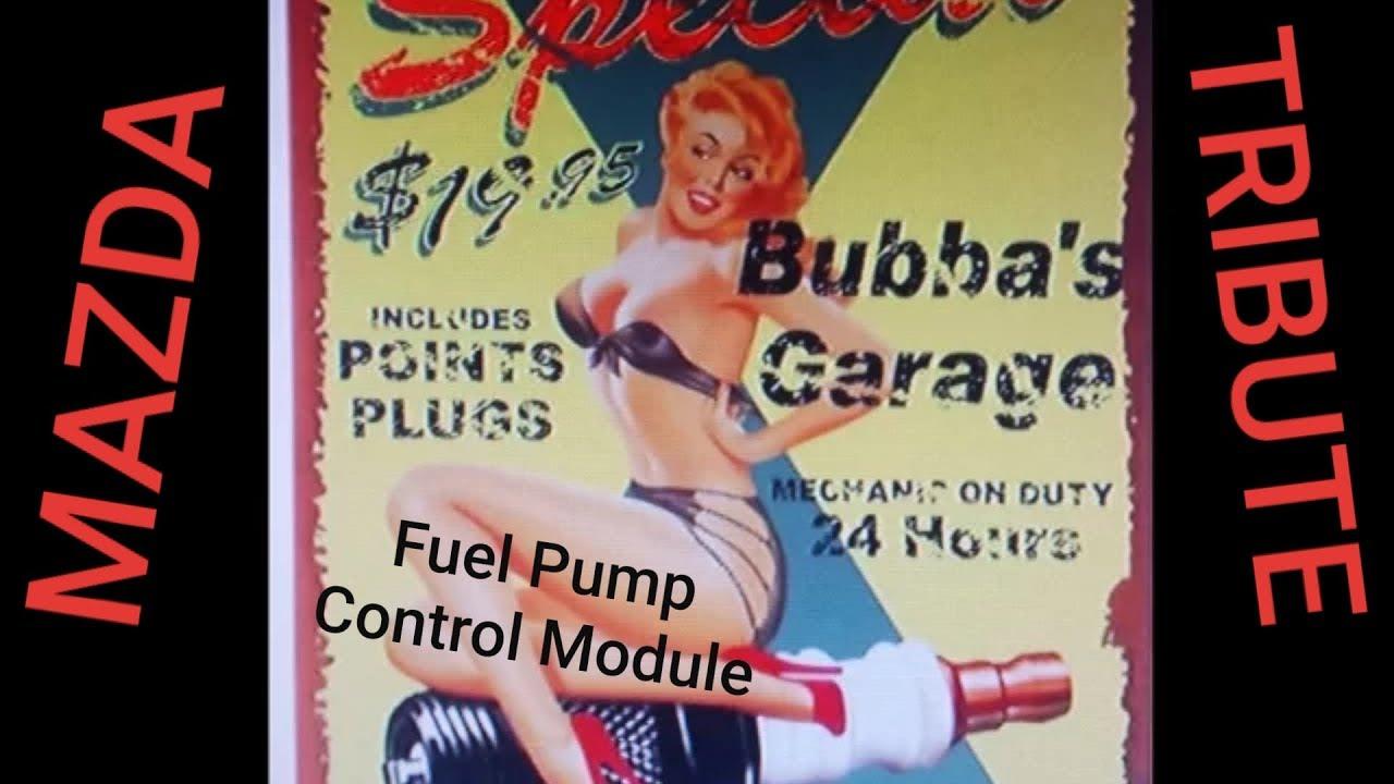2005 Mazda Tribute Fuel Pump Control Module Youtube Filter On 04 F150