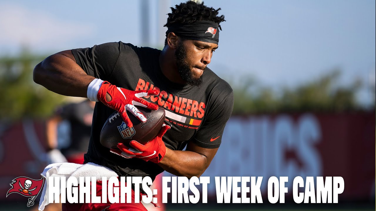Highlights: First Week of Training Camp