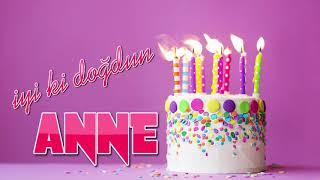 Mutlu Yıllar ANNE - Doğum Günü Şarkısı
