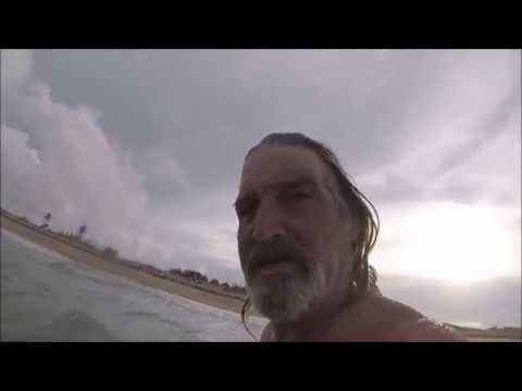 Welcome to Jensen Beach Florida , Man against beast .