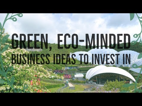 Green, Eco Minded Business Ideas to Invest In