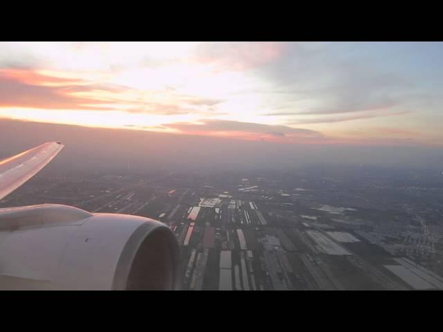 Thai 777 takeoff Bangkok to Chiang Mai
