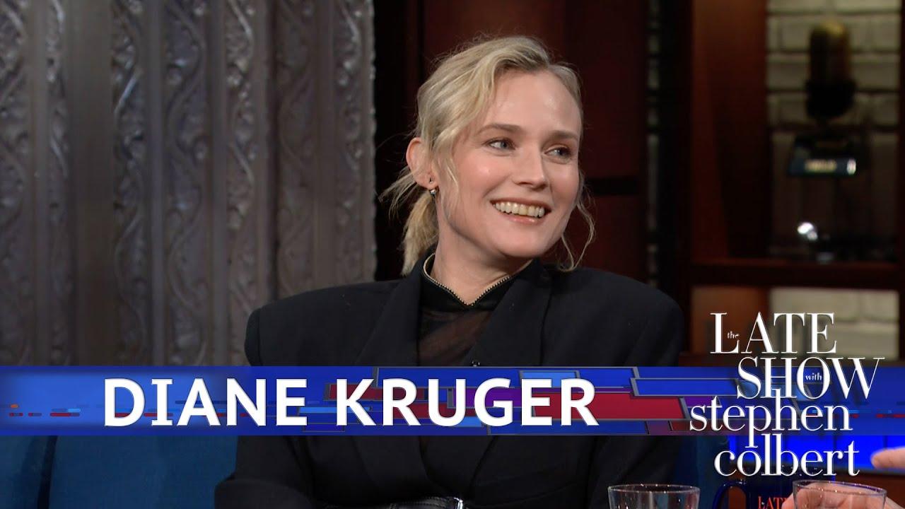 Diane Kruger's Latest Scene Partner Was A Tennis Ball