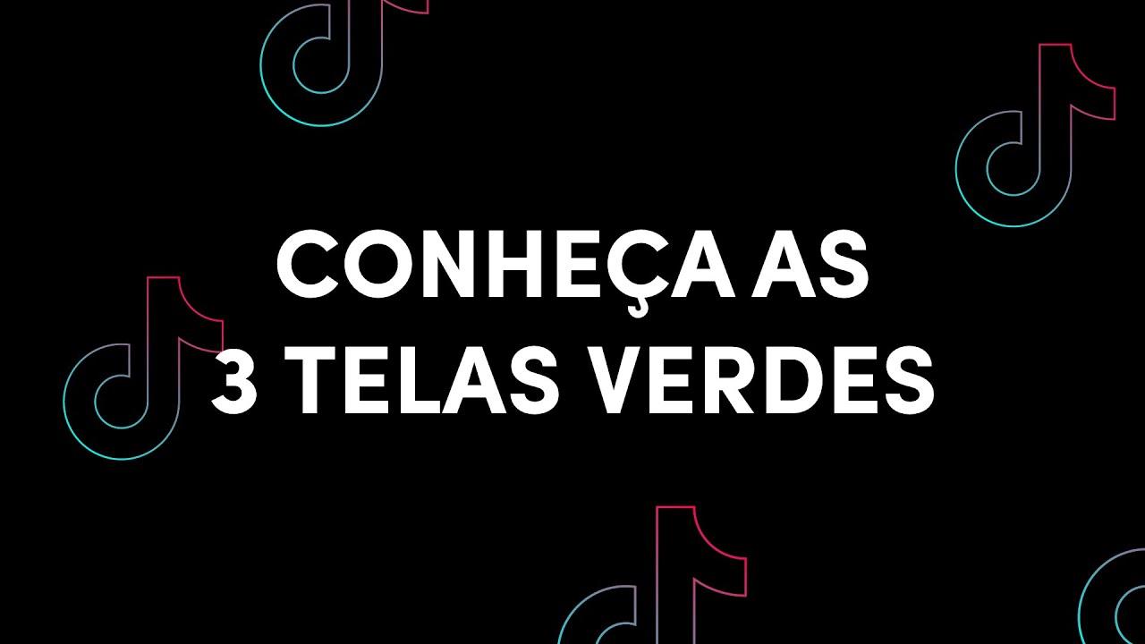 Conheça nossas 3 TELAS VERDES! | TikTok Brasil