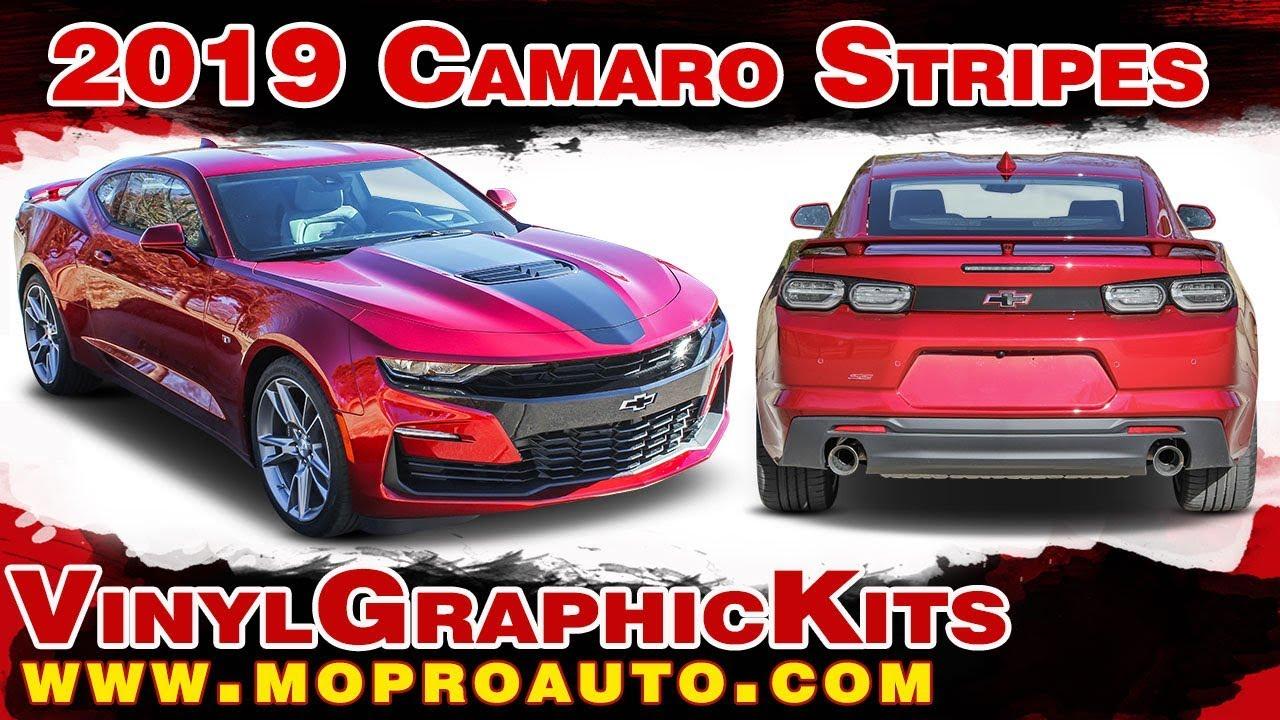 151ba1b2907750 2019 Camaro Stripes
