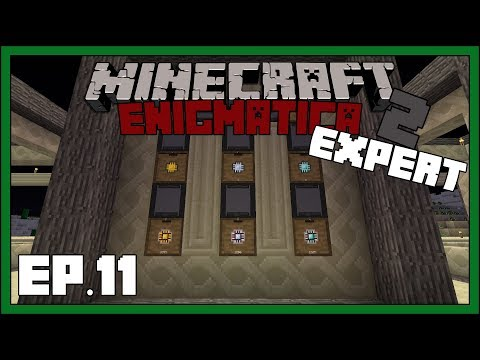 Enigmatica 2: Expert - EP11 - Questing & AE2 Processors - Modded Minecraft  1 12 2