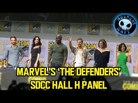 Marvel's THE DEFENDERS #SDCC Panel (whole)