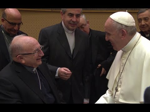 Pope meets with priest victims of Chilean clerical abuse over the weekend