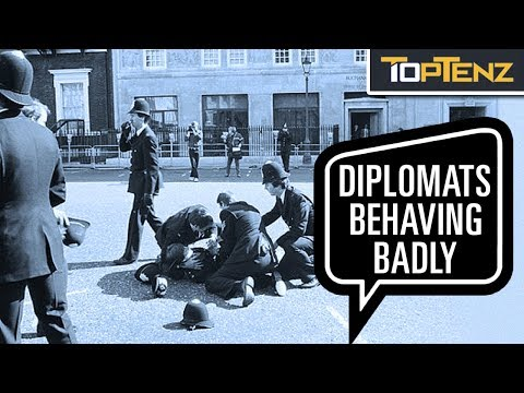 10 Strange Crimes Committed By Diplomats