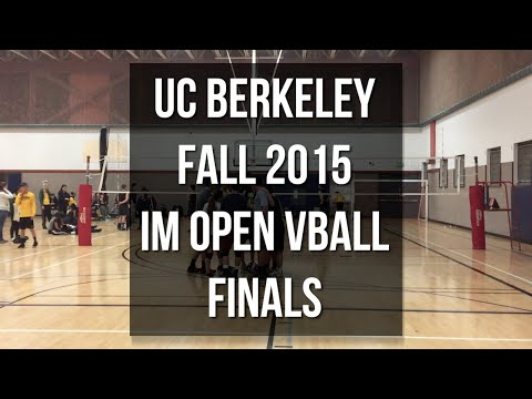 UC Berkeley Fall 2015 IM Open Volleyball Finals