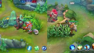 Mobile Legends Strike of Kings maps comparison