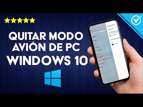 Cómo Desactivar o Quitar el modo Avión de mi PC con Windows 10