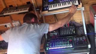 Planetary Assault Systems – Booster, live cover version. TR-8, Volca Keys, Arturia MicroBrute