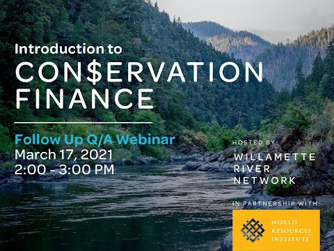 Introduction to Conservation Finance Q&A