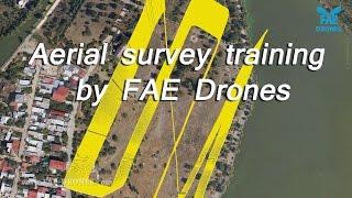 UAV training by FAE - aerial survey from FAE960H drones