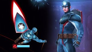 MARVEL: Future Fight - Captain America Tier 2 Unleashed!
