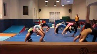 RockStar's Gymnastics Level 2 Performance week Jan  2016