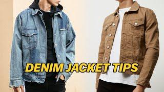 How To   Wear Denim Jackets (S…