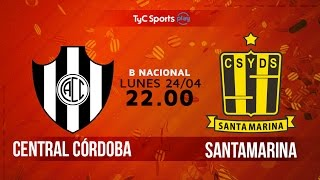 Central Cordoba vs Deportivo Santama. full match