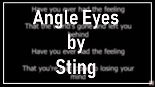 Watch Sting Angel Eyes video