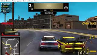 Need For Speed Undercover PSP - Part 6 - Race #6 - Zipper (Lap Knockout)