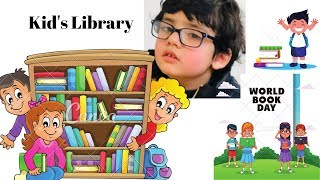 A Visit to The Library | For children | Learning Made Easy | Learn color name|