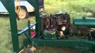 Pin Oak Creek Homemade Drilling Rig