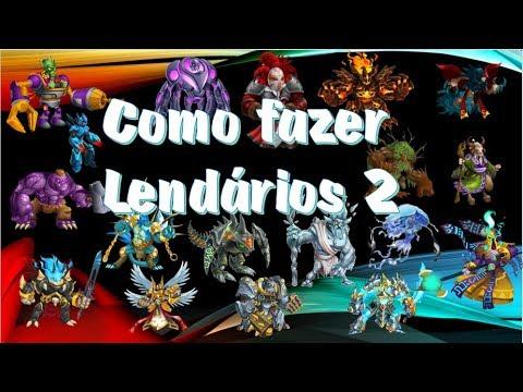 Monster Legends Como Fazer Lendários no Monster Legends 💪😉