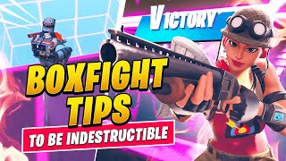 3 GAME CHANGING Box Fight Tips To Be INDESTRUCTIBLE In Season 6 (Fortnite Tips & Tricks)
