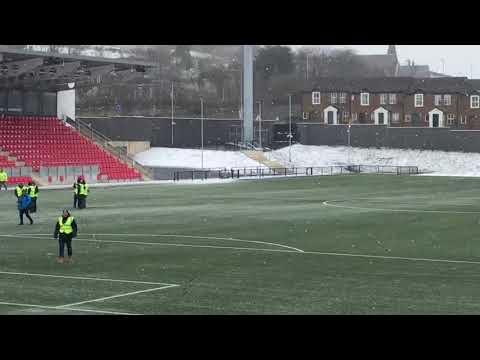 Derry City FC, Refurbished Brandywell Ground, 1st March 2018