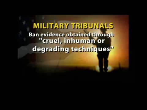 Jake Tapper on Military Tribunals