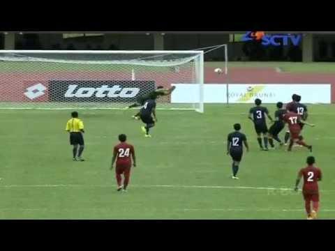 INDONESIA u19 (6-0) Singapore u21 Hassanal Bolkiah Trophy Full Highlights 18/8/2014