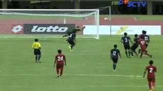 INDONESIA u19 (6-0) Singapore u21 Hassanal Bolkiah Trophy Full Highlights 18/8/2014