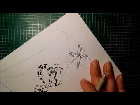 Zentangle * 10 (Smit, Hurry, Purk, Fennell, Lichen, Balloya)