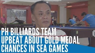 Ph Billiards Team Upbeat About Gold Medal Chances In Sea Games