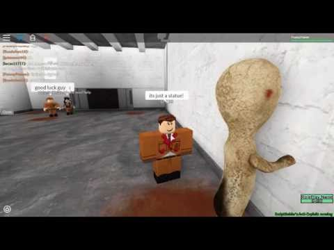 Roblox SCP-173 Test and SCP-035 Test (Name - Site 61 no more asking it - its right here)