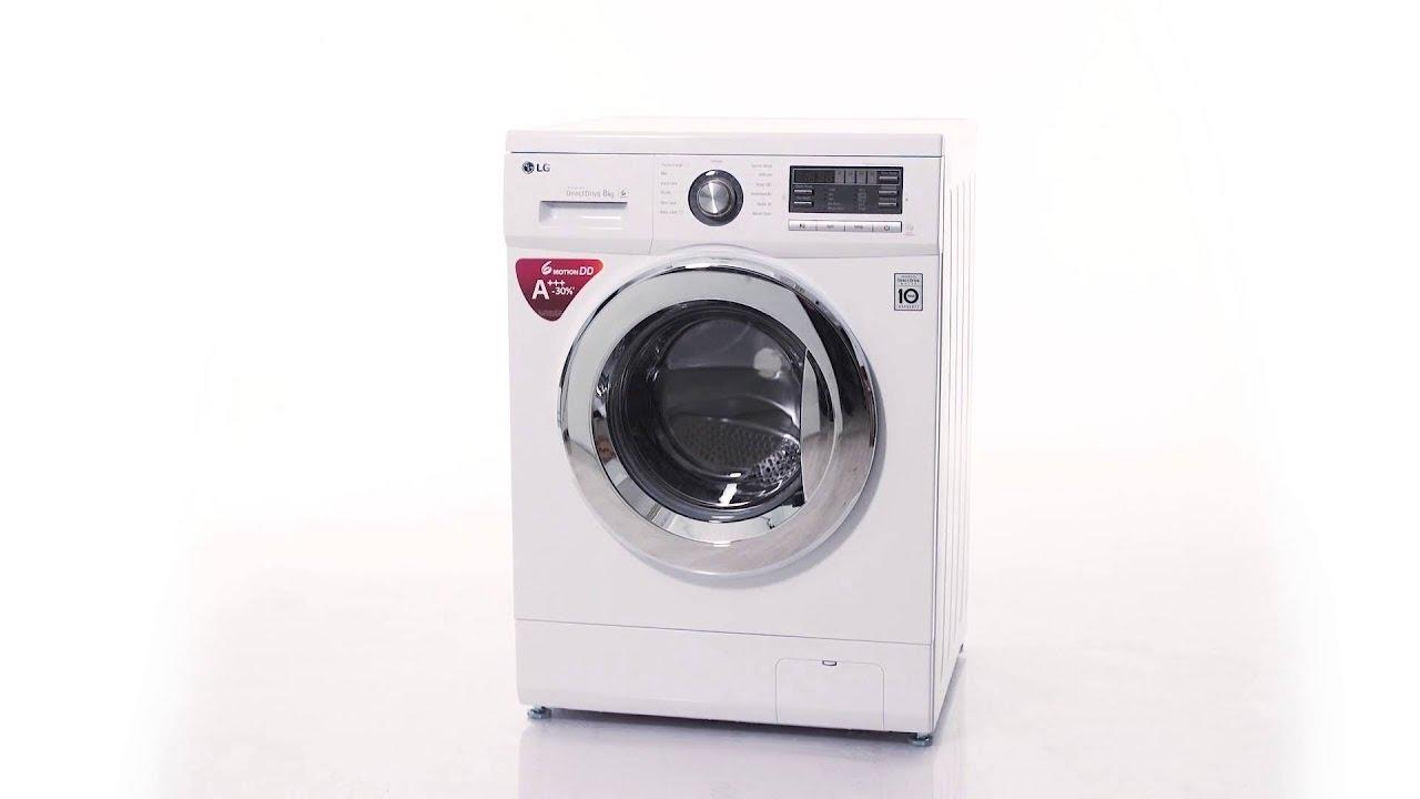 LG F1496TDA3 'Bedst i test' vaskemaskine - YouTube
