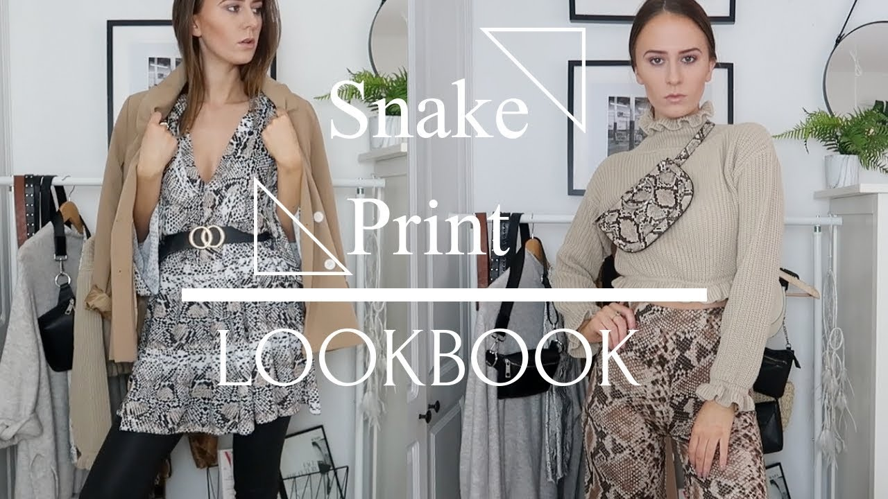 [VIDEO] - Fall Trends LookBook | Snake Print 3