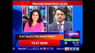 Mr. Rajiv Popley expresses his views on the jewellery buying trends this festive season on ET Now