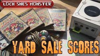 YARDSALE SCORES! NES, Paper Marios and C.E.D videos?
