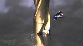 Замедленная съемка сверления стального листа(Высокоскоростная съемка сверления стального листа 16мм сверлом от компании Ingersoll - http://www.ingersoll-imc.com/ Материла..., 2015-03-26T09:35:23.000Z)
